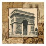 Paris Arch Giclee Print by Studio Voltaire