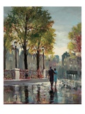 Boulevard Walk Giclee Print by Brent Heighton