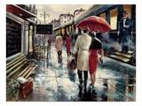 Estación metropolitana Lámina giclée por Brent Heighton