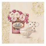 Set for Coffee Poster von Stefania Ferri