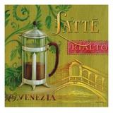 Latte Rialto Print by Angela Staehling