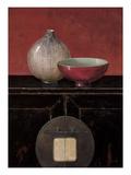 Asian Armoire - Noir Art par Arnie Fisk