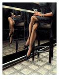 Martini with a Twist Premium Giclee Print by Nathan Rohlander
