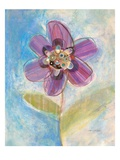 Whimsical Flower 1 Giclee Print by Robbin Rawlings
