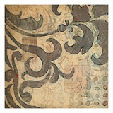 Royal Filigree 1 Giclee Print by DeRosier