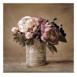 Estate Peonies Art by Cristin Atria