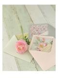 Blooming Letters Kunstdrucke von Mandy Lynne