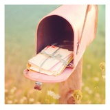 Send a Letter Prints by Mandy Lynne