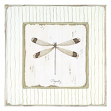 Garden Dragonfly Print by Jan Cooley