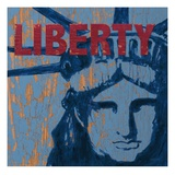Liberty Reigns Giclee Print by Morgan Yamada