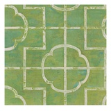Square Lattice Giclee Print by Hope Smith