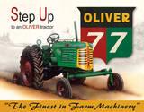 Oliver - 77 Tin Sign