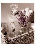 Lavender Tray Poster von Julie Greenwood