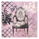 Baroque Seating Poster von Chad Barrett