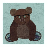 Friendly Bear Giclee Print by Morgan Yamada