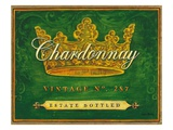 Chardonnay Vintage Giclee Print by Angela Staehling