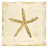 Gilded Ocean Starfish Prints by  Studio 5