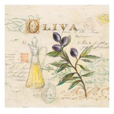 Tuscan Olive Oil Posters by Angela Staehling