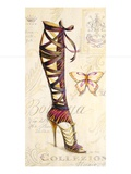 Strappy Boot Poster by Angela Staehling