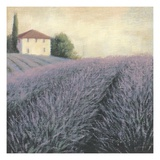 Lavender Hills Detail Giclee Print by James Wiens