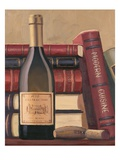 Wine Library Lámina giclée por Wiens, James