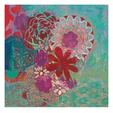 Bohemian Flowers Giclee Print by Jeanne Wassenaar