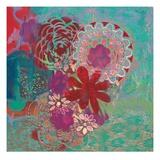 Bohemian Flowers Posters by Jeanne Wassenaar