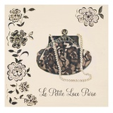 Le Petite Lace Purse Print by Marco Fabiano