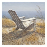 Shoreline Chair Posters by Arnie Fisk