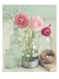 Blooming Bottles 高品質プリント : マンディー・リン