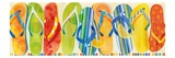 Flip Flop Collection Art by Mary Escobedo