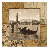Venice Canal Giclee Print by Studio Voltaire