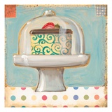 One Petit Four Giclee Print by K. Tobin