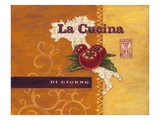 La Cucina Italia Gicl&#233;e-Druck von Angela Staehling