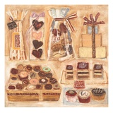 Chocolate Display 1 Giclee Print by  Hensick