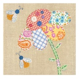Patchwork Daisy Art by Paula Joerling