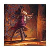 Dance Me In Giclee Print by Amber Zeph