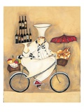 Wine Peddler Giclee Print by Jennifer Garant