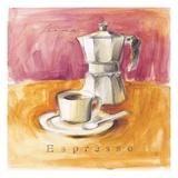 Espresso Aroma Art by Lauren Hamilton