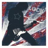 Rock Star Affiche par Morgan Yamada