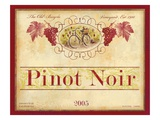 Californian Pinot Noir Art by Devon Ross