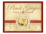 Tre Venezie Pinot Grigio Giclee Print by Devon Ross