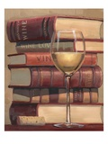 Novel Wine Premium Giclee Print by James Wiens