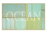 Ocean Sign Poster by  Z Studio