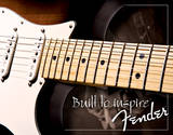 Fender - Built to Inspire Tin Sign