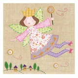 Sweet Fairy Princess Prints by Paula Joerling