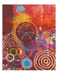 Textile Story Giclee Print by Jeanne Wassenaar