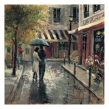 Romantic Stroll Print by Brent Heighton