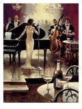 Soirée jazz Affiches par Brent Heighton