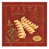 Italian Pasta Gicle-tryk af Stefania Ferri